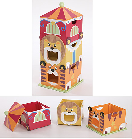 Circus Stacking boxes