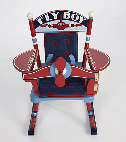 Flyboy Airplane Rocker