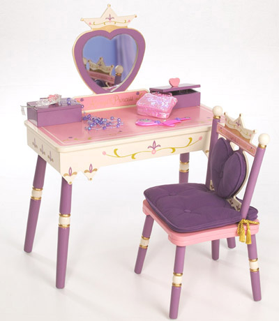 Princess Vanity and Chair