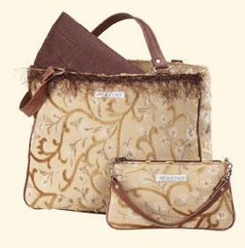 Tuscany Vine Sand Styler Diaper Bag