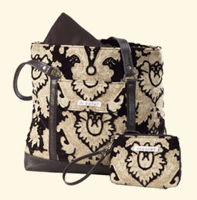 Ebony Transitional Diaper Bag