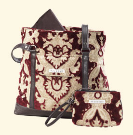 Merlot Transitional Diaper Bag