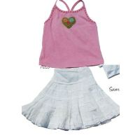 Sweetheart Skirt Set