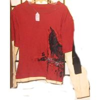 Red Wilderness Top