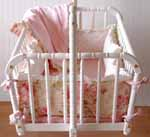 Bed of Roses Cradle Bedding