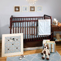 Hot Chocolate Baby Bedding