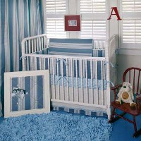 Huckleberry Finn Baby Bedding