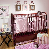Tickled Pink Baby Bedding