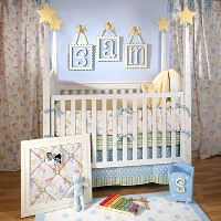 Under the Big Top Baby Bedding