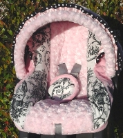 Baby Paris Infant Car Seat Cover