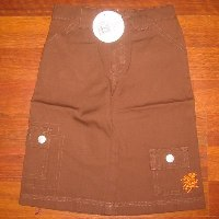 Oink Chocolate 3/4 Utility Pants