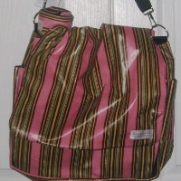Zebra Stripe Diaper Bag