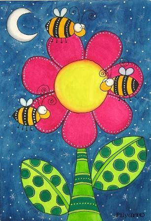 Bees Art
