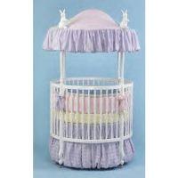 Chenille Round Crib Bedding Bedding