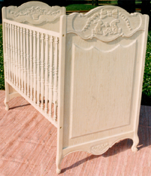Country French Baby Crib