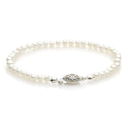 Emily Pearl Bracelet