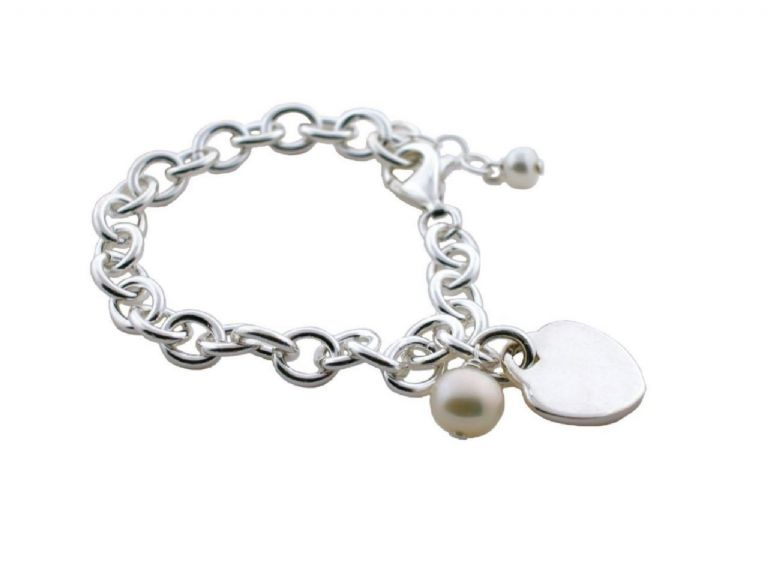 """Sweet Love"" Bracelet Sterling"