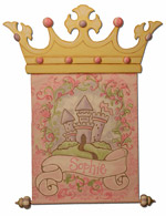 Fairy tale Princess Wall Hanging