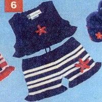 Renattoni Baby Bikini Sailor