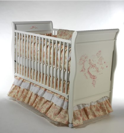 Children's Play Toile Crib