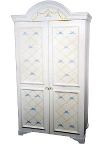 Lattice Bow Armoire