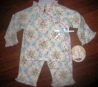 Valentine Blue Layette Set