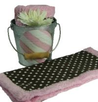 Chenille Stroller Blanket